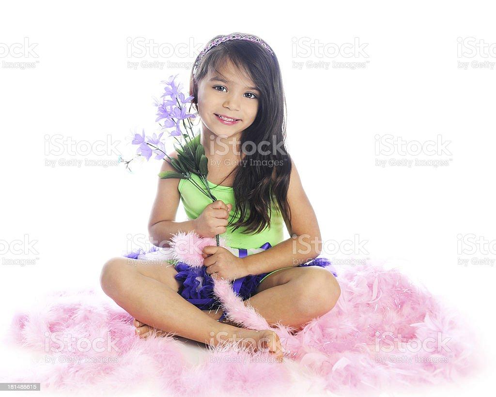 Young Boa Beauty royalty-free stock photo