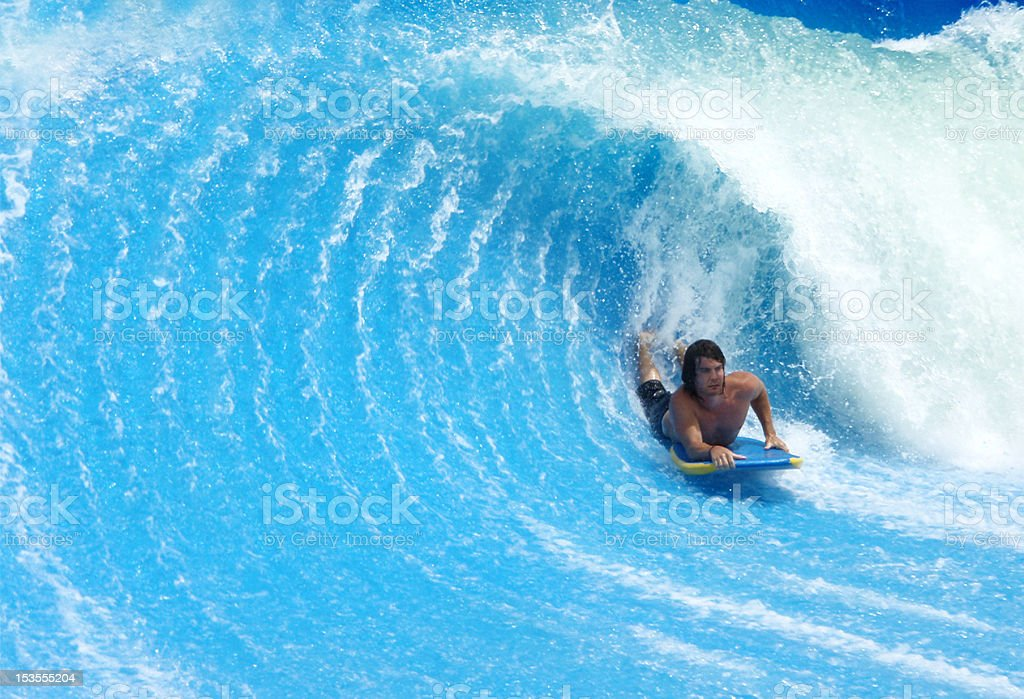 Young Bodyboarder stock photo
