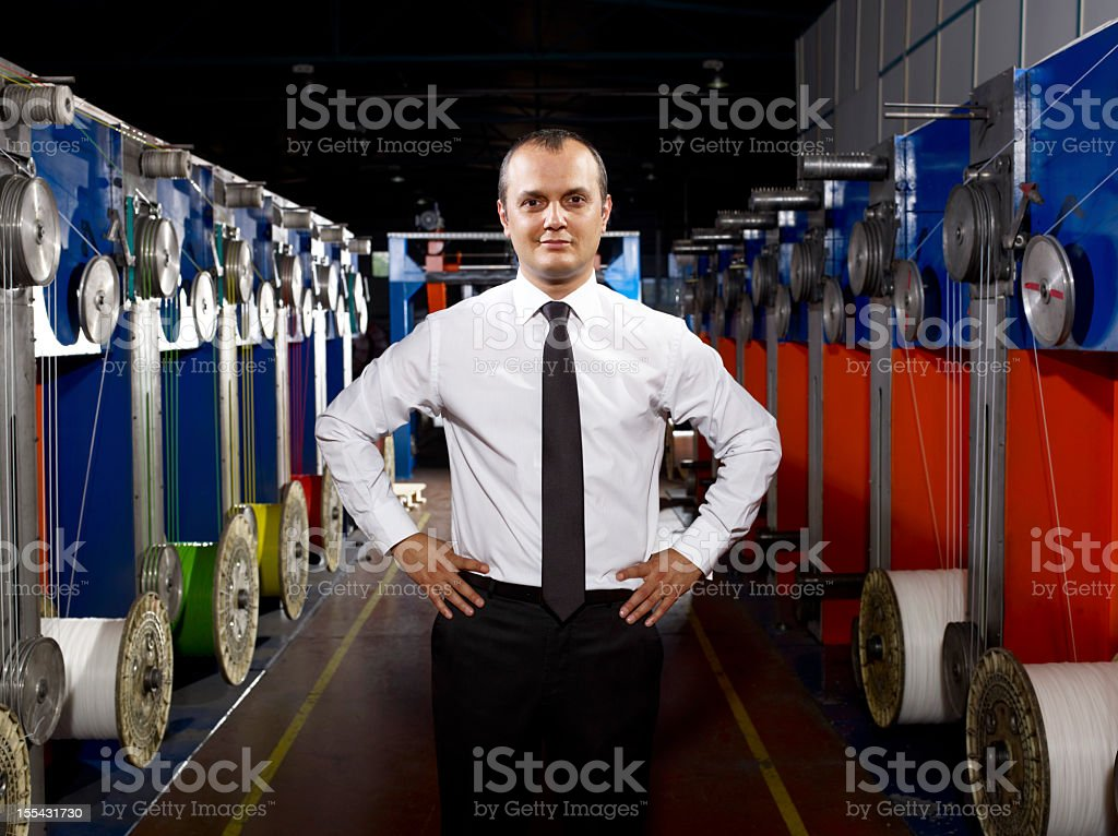 Young Boss royalty-free stock photo