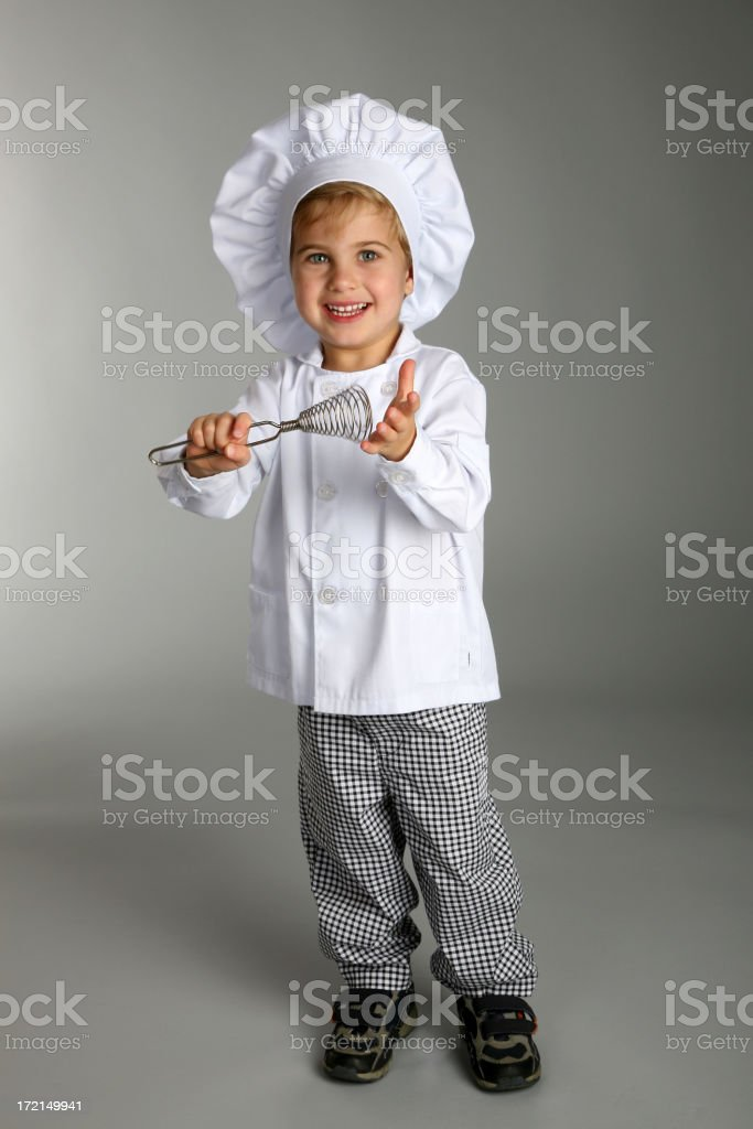 young boy chef4 royalty-free stock photo