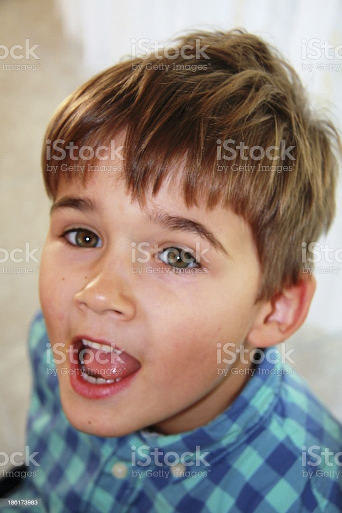 young boy stock photo