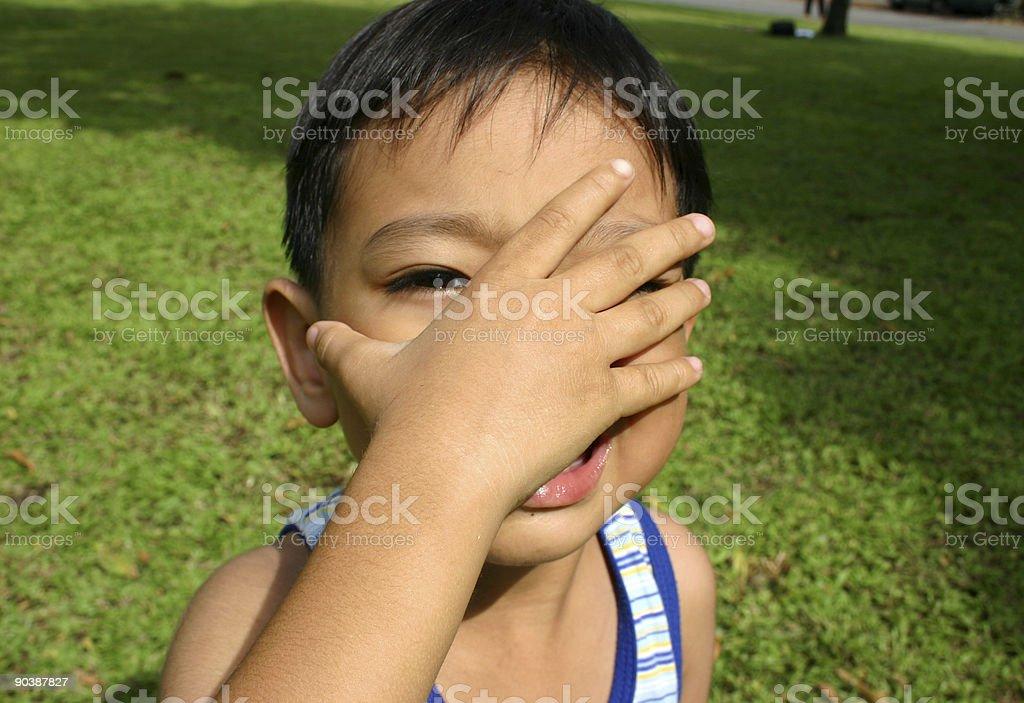Junge Jungen Lizenzfreies stock-foto