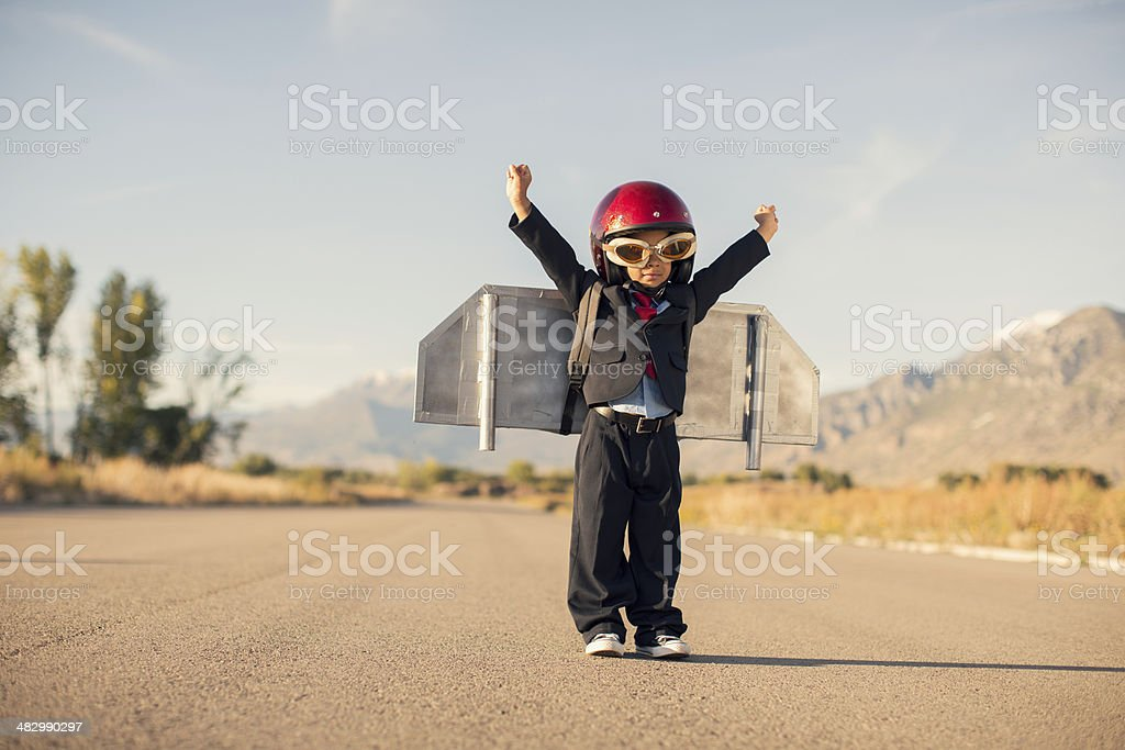 Business Take Off stock photo