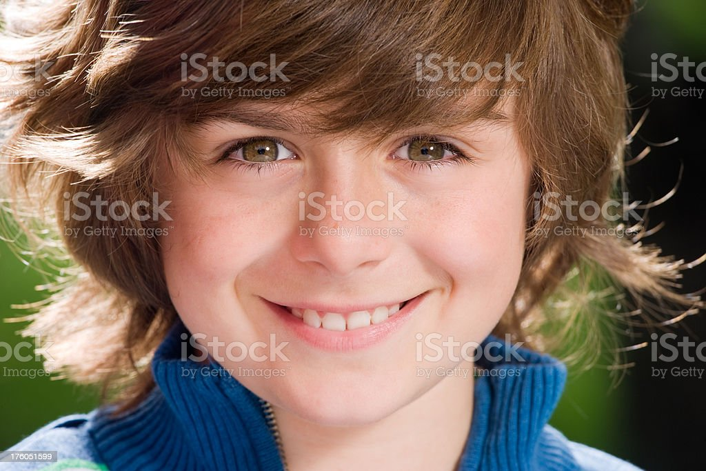 Young Boys Happy face royalty-free stock photo