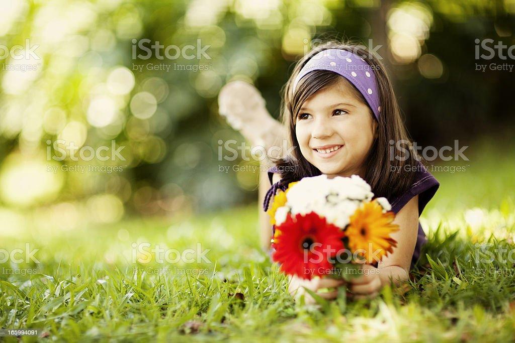 Young Brazilian Girl royalty-free stock photo