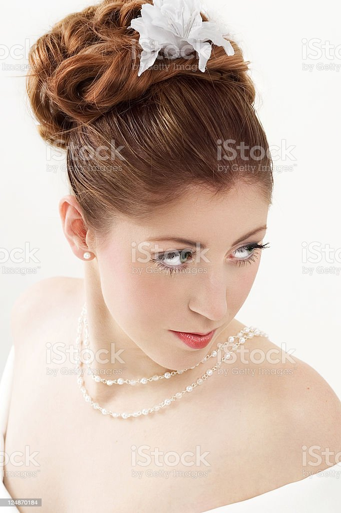 Young Bride stock photo