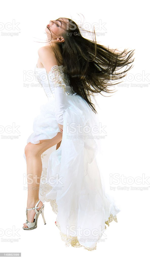 Young bride royalty-free stock photo