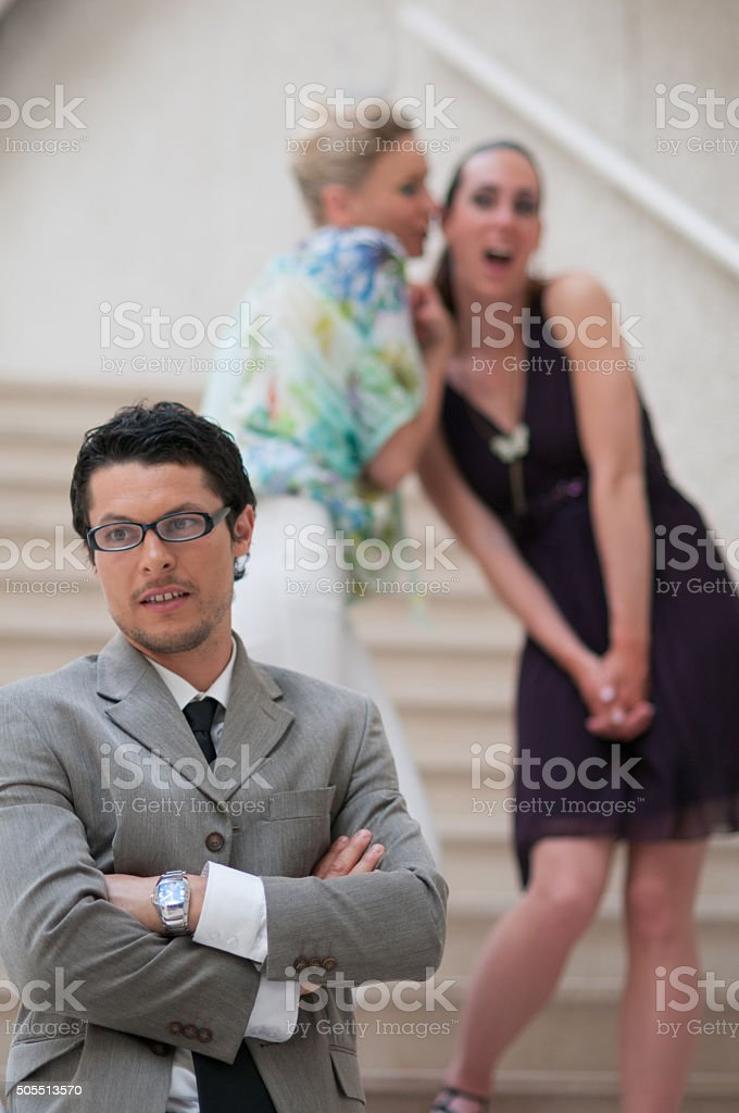 Young Businesman stock photo