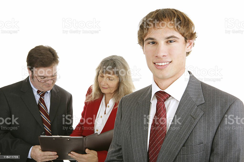 Young Business Leader royalty-free stock photo