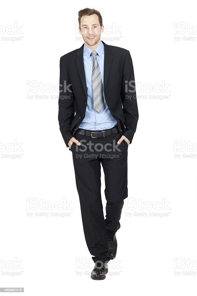 young business man stock photo
