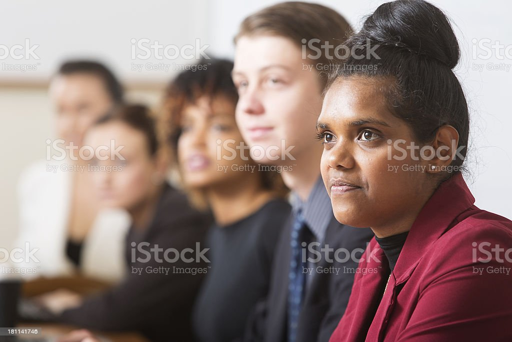 Young Business People stock photo