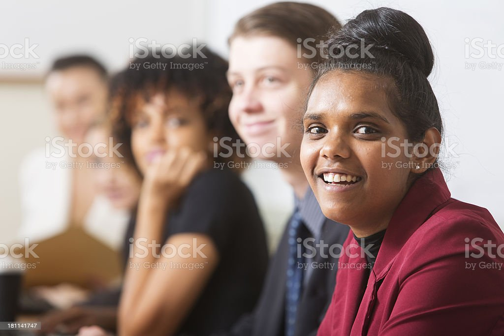 Young Business People royalty-free stock photo