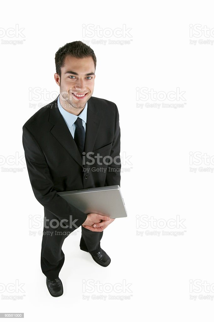 Young business royalty-free stock photo