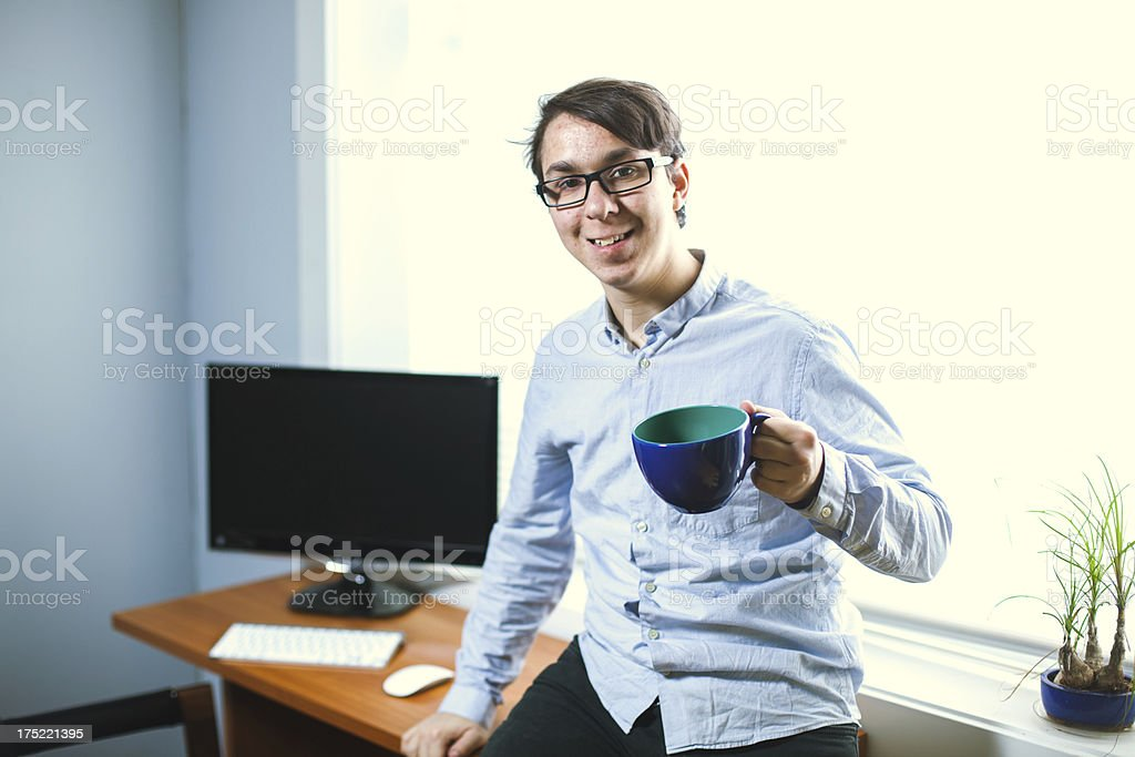 Young Business Professional royalty-free stock photo