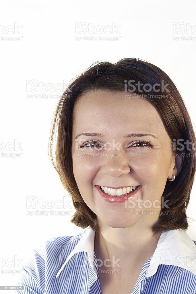 Young business woman. royalty-free stock photo