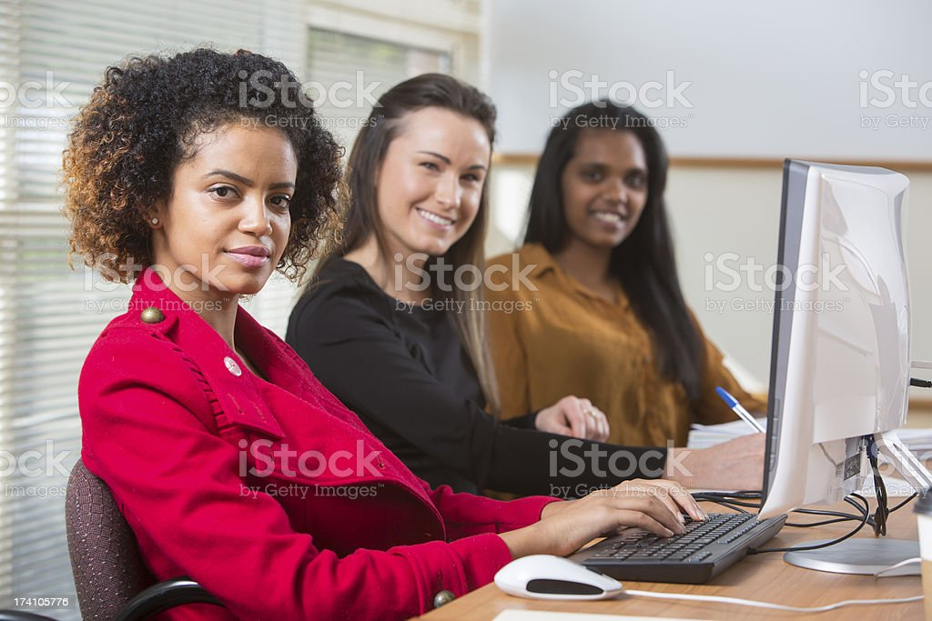 Young Business Women royalty-free stock photo