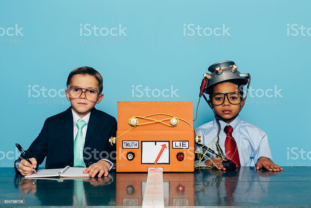 Young Businessman Interviews for New Job stock photo