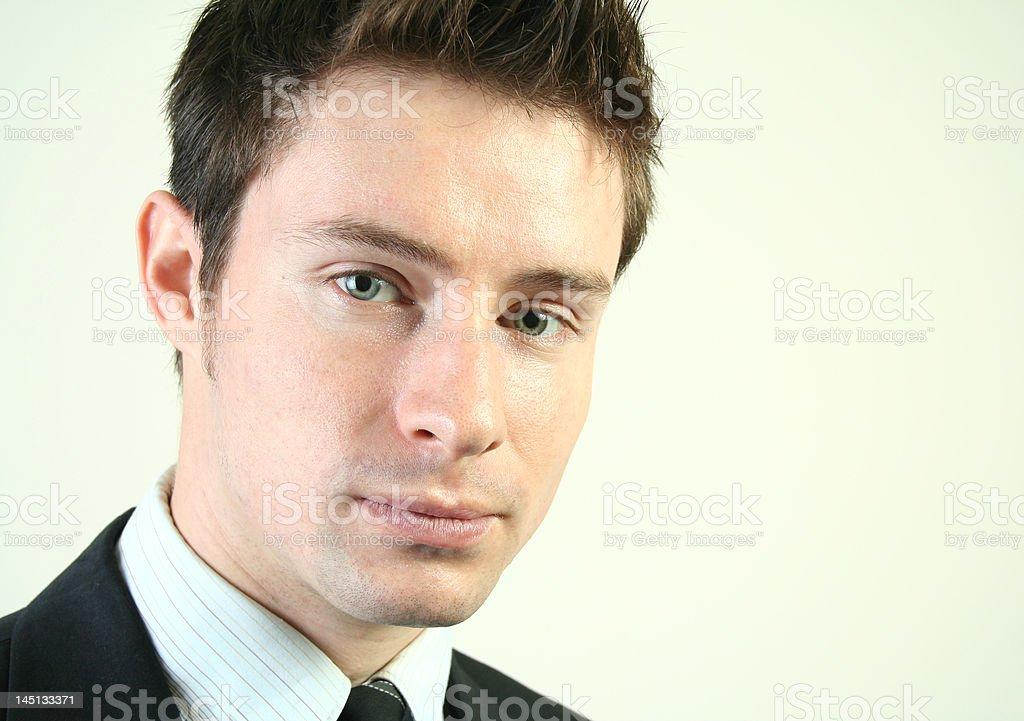 Junger Geschäftsmann (Serie Lizenzfreies stock-foto