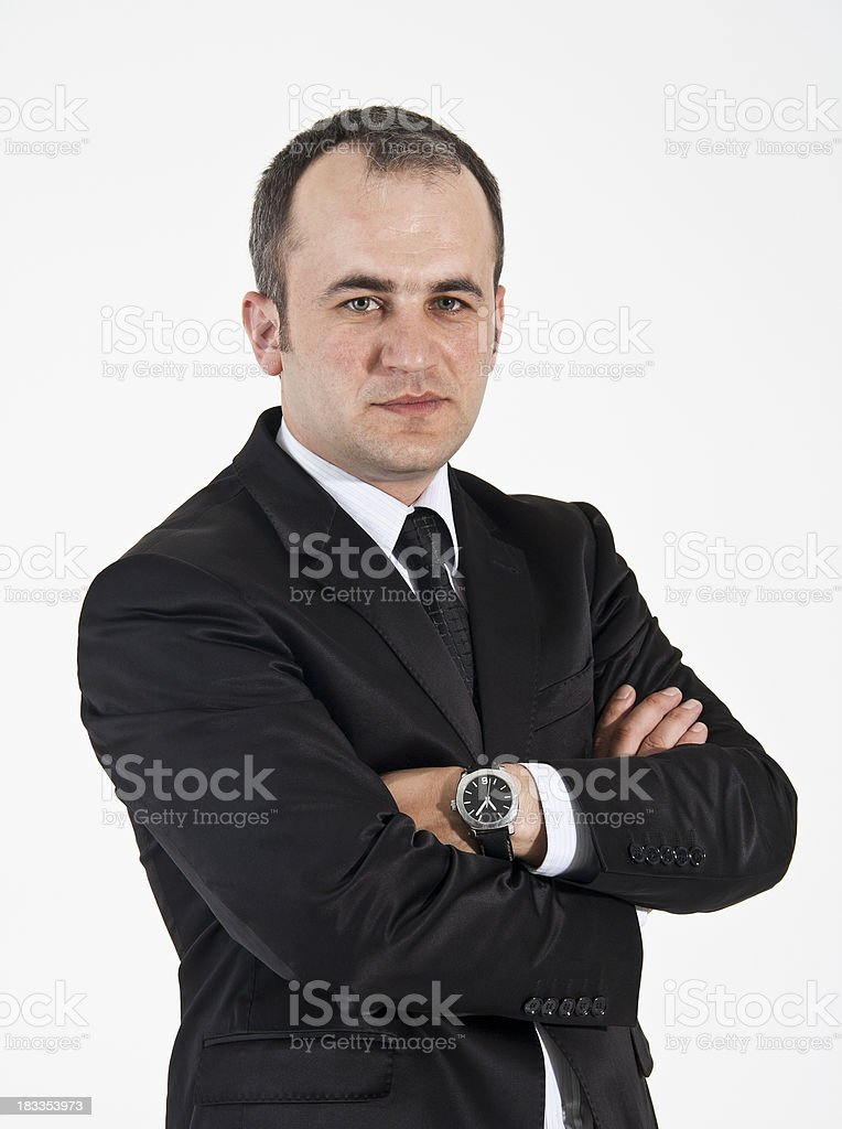 Young businessman. royalty-free stock photo