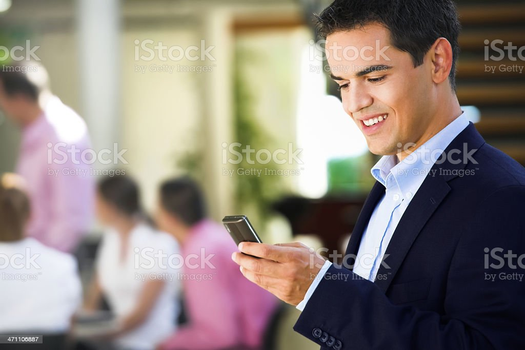 Young businessman royalty-free stock photo