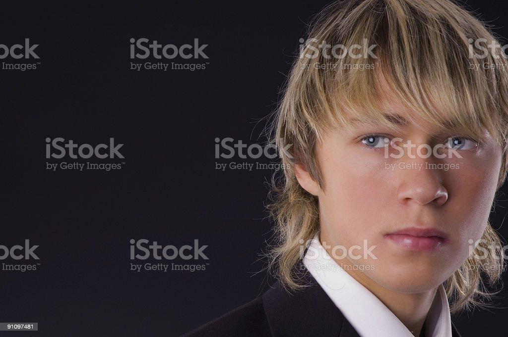 young businessman portrait stock photo