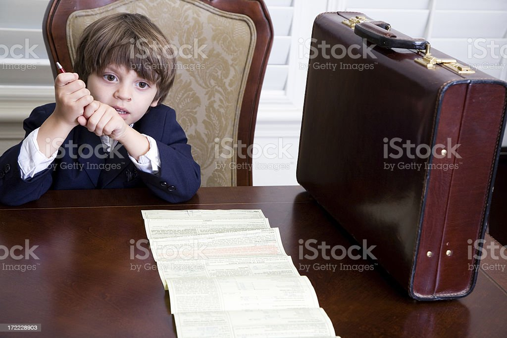 Young Businessmen royalty-free stock photo