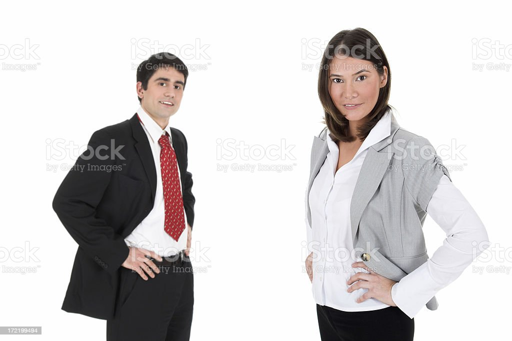 Young businessteam royalty-free stock photo