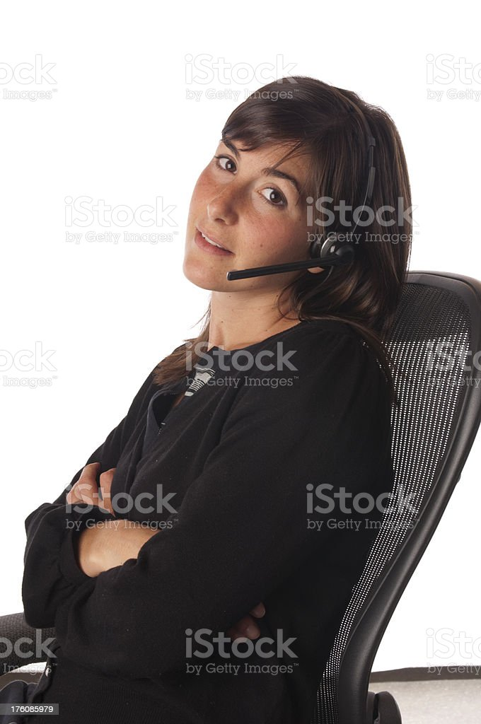 Young Businesswoman royalty-free stock photo