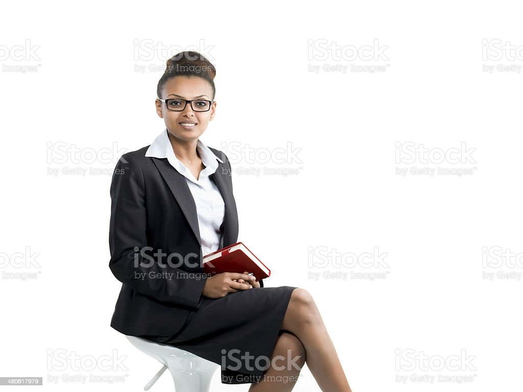 Young Businesswoman Portrait stock photo