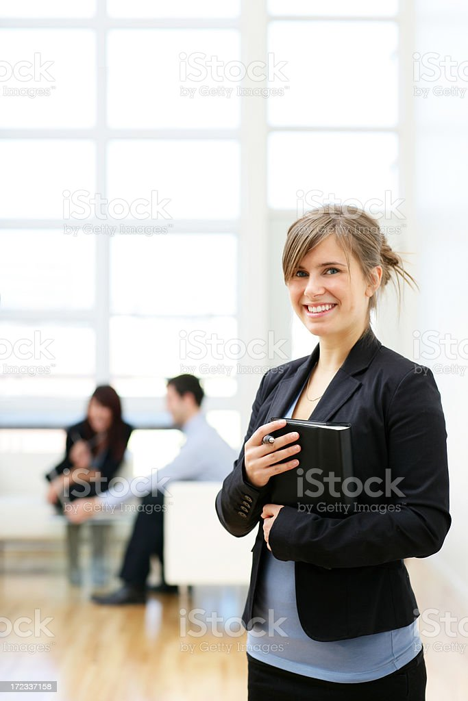 Young Businesswoman Posing royalty-free stock photo