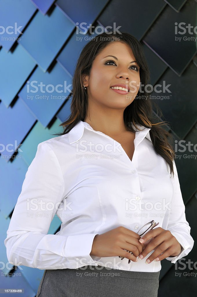 Young businesswoman series royalty-free stock photo