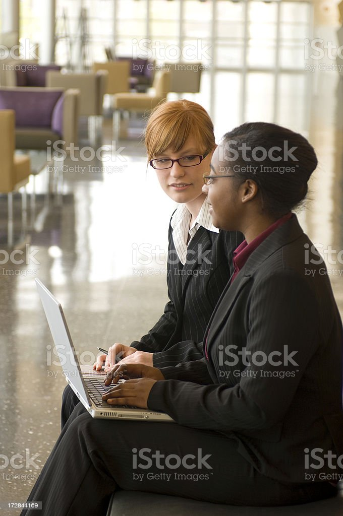 Young Businesswomen royalty-free stock photo