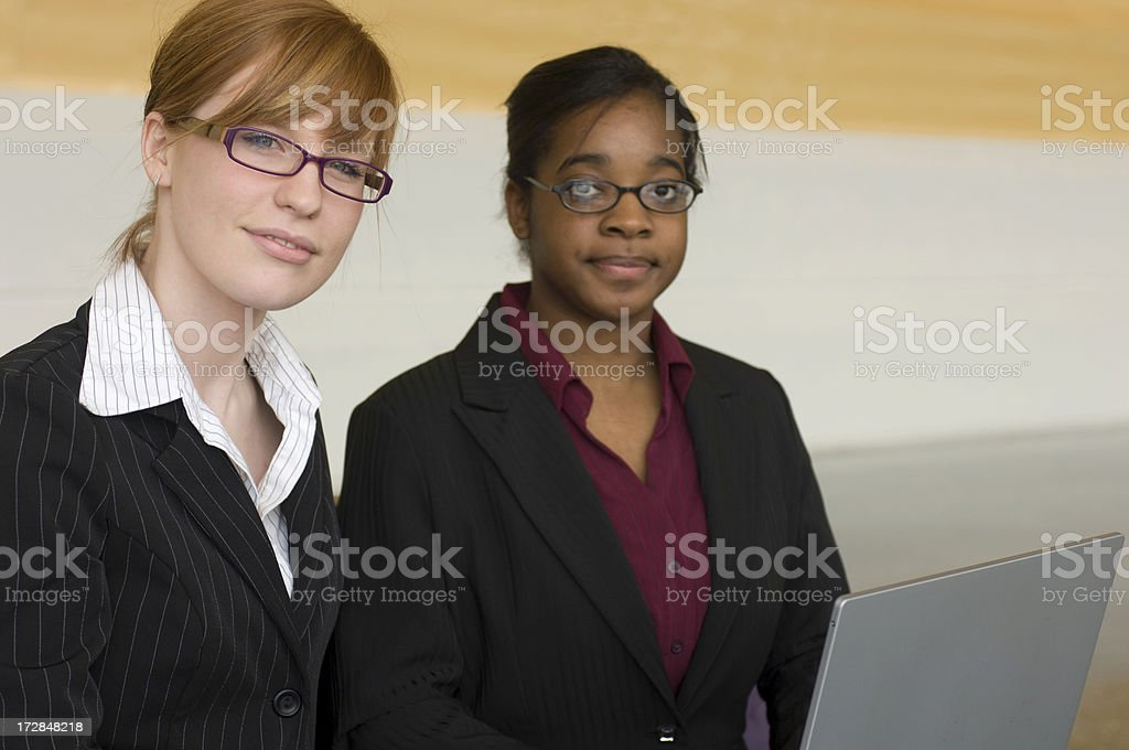 Young BusinesswomenYoung royalty-free stock photo