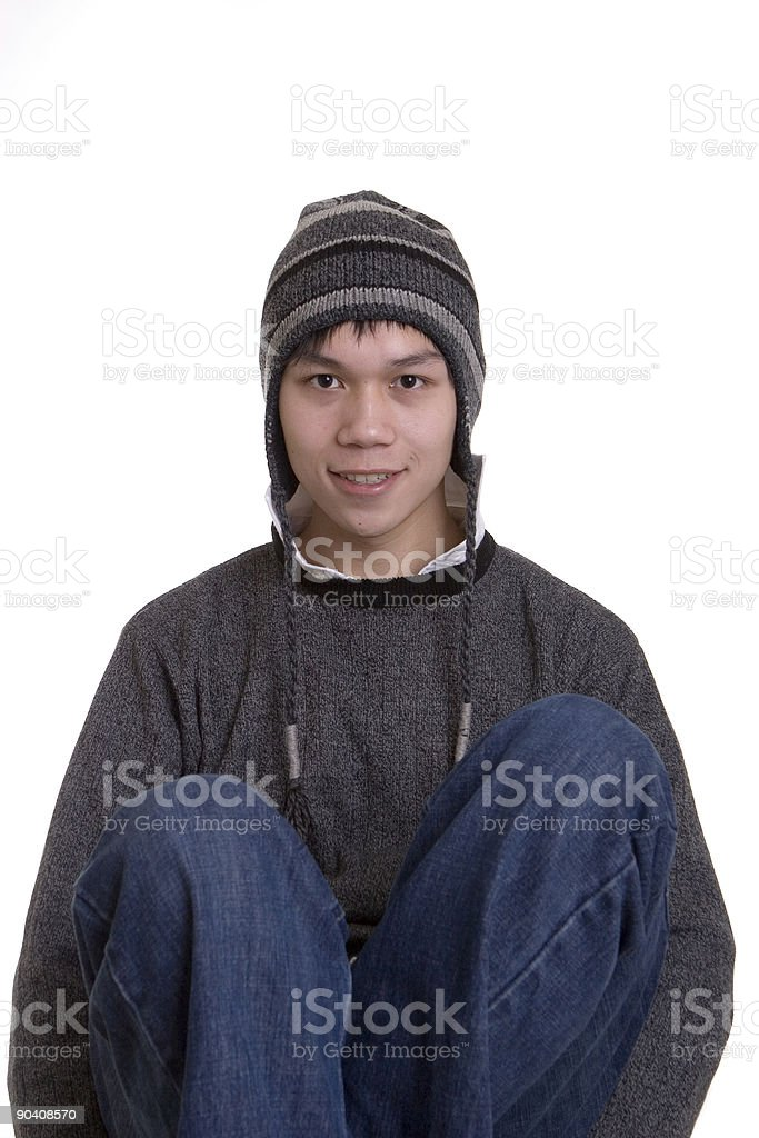 Young Casual Fellow royalty-free stock photo