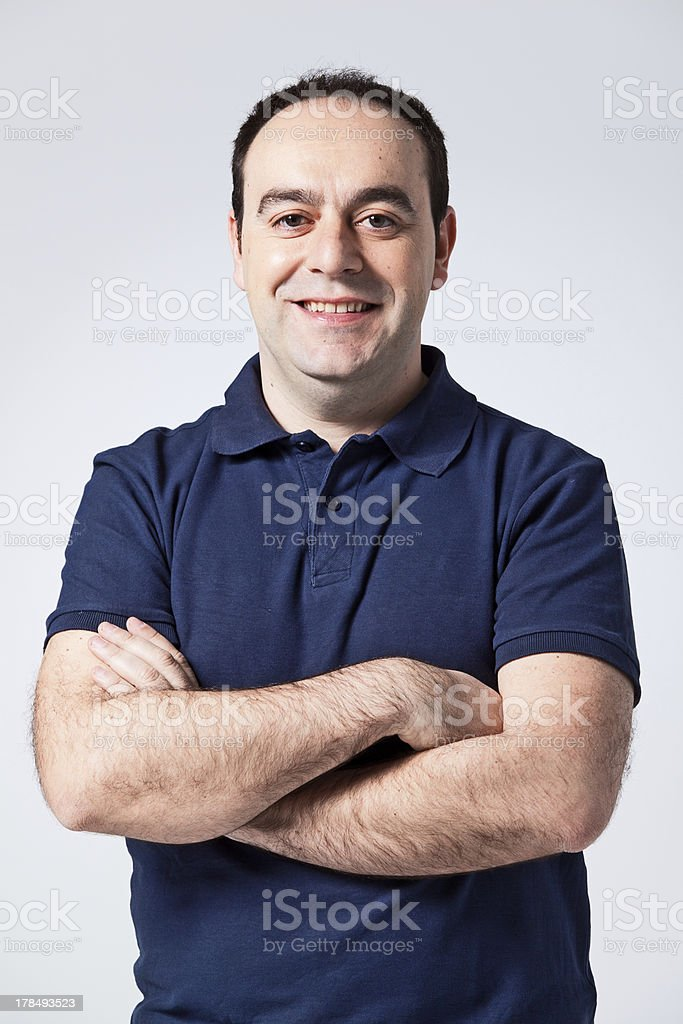 Young Casual Man stock photo