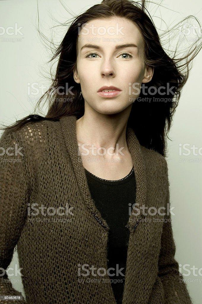 Young Caucasian Woman stock photo