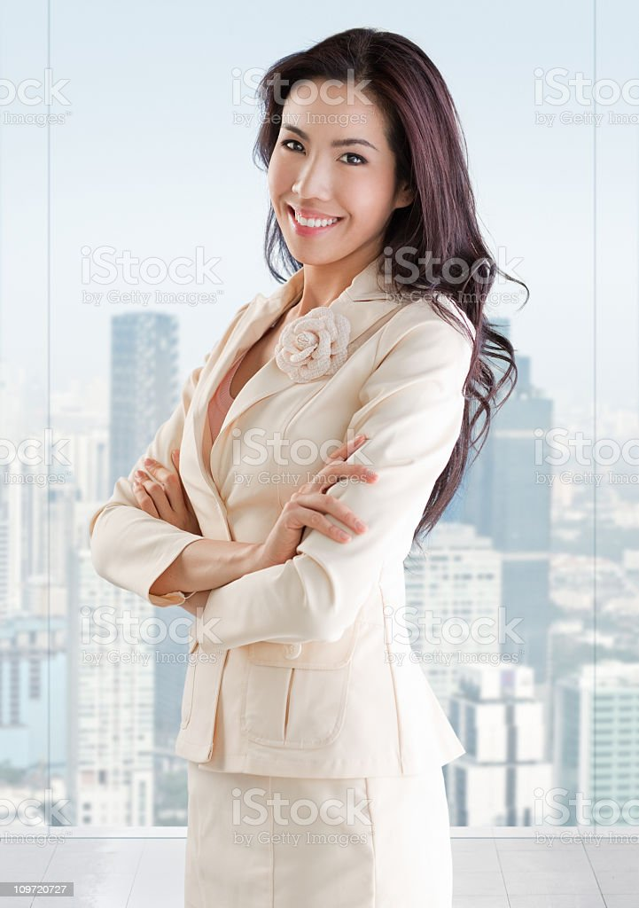 Young CEO royalty-free stock photo
