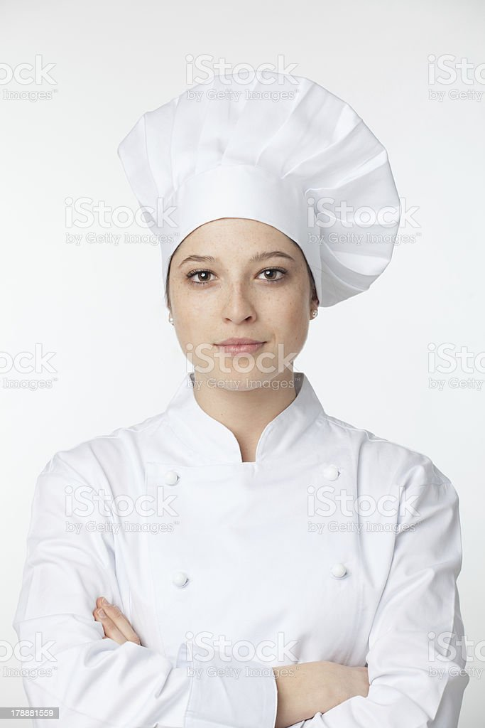 Young chef royalty-free stock photo
