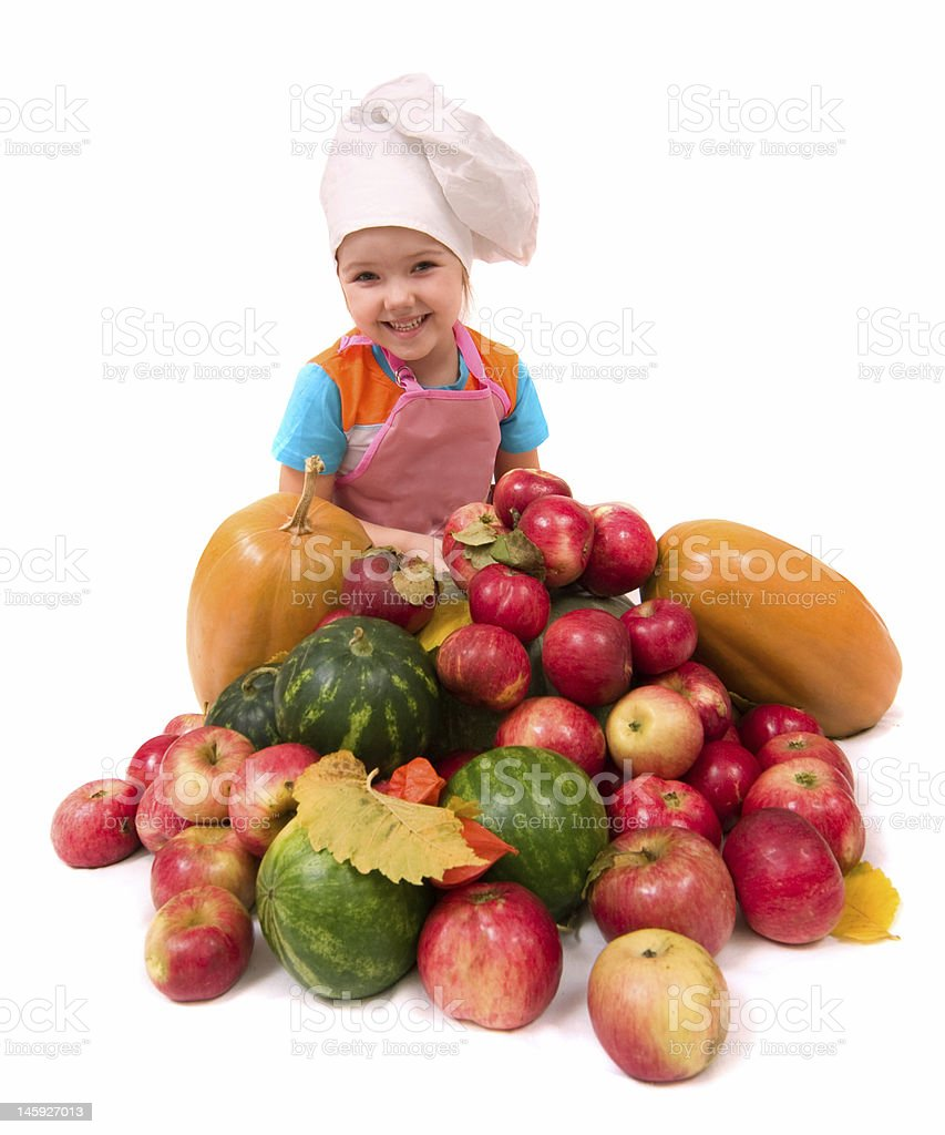 Young chief cook royalty-free stock photo
