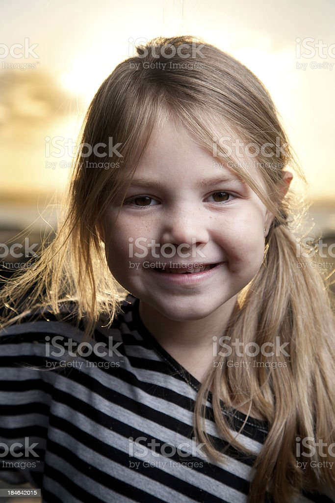 Young child portrait royalty-free stock photo