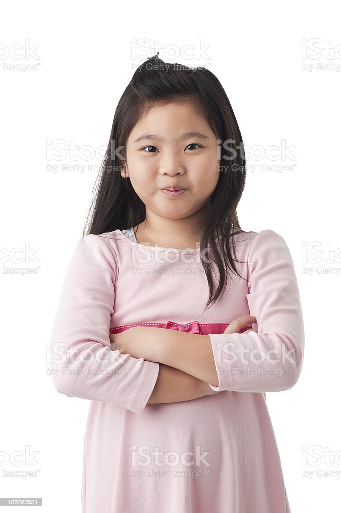 Young Chinese Girl royalty-free stock photo