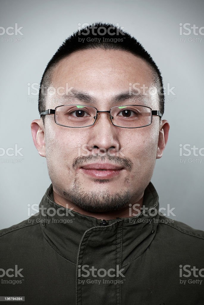 Young Chinese men royalty-free stock photo