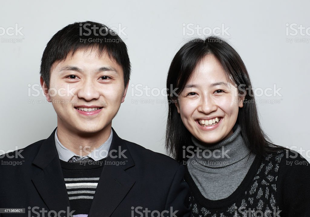 Young Chinese royalty-free stock photo