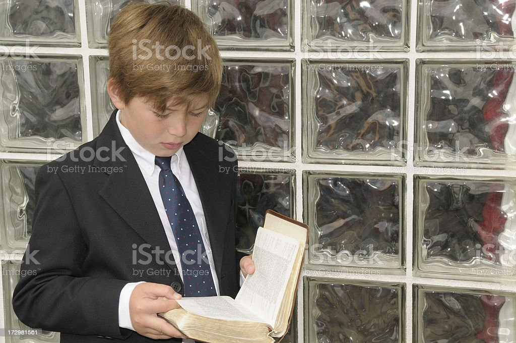 Young Christian stock photo