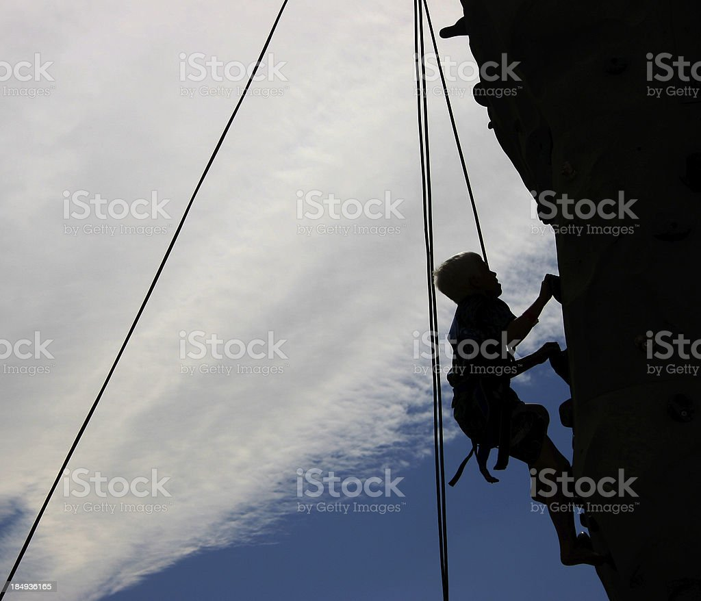 Young Climber royalty-free stock photo