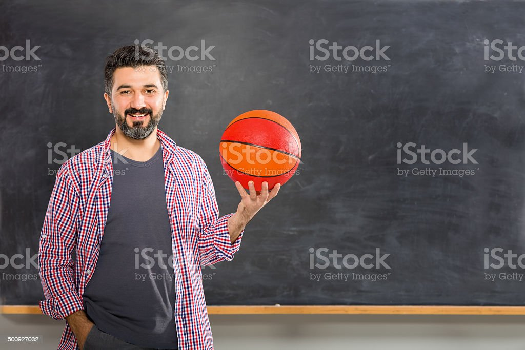 Young Coach stock photo