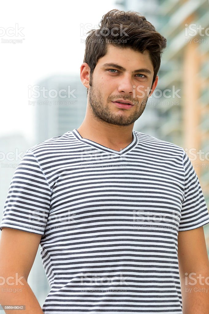 Young college student (real people) stock photo