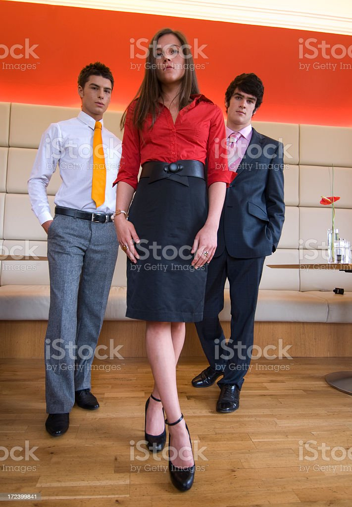 Young Confident Business Leader royalty-free stock photo