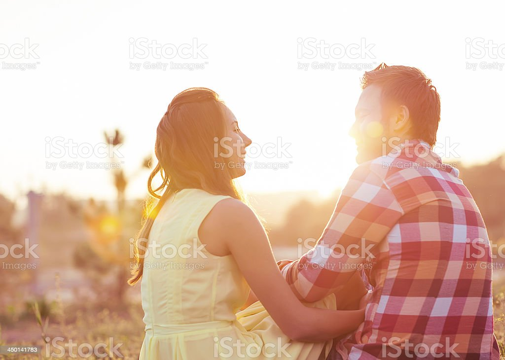 Young couple in love. royalty-free stock photo