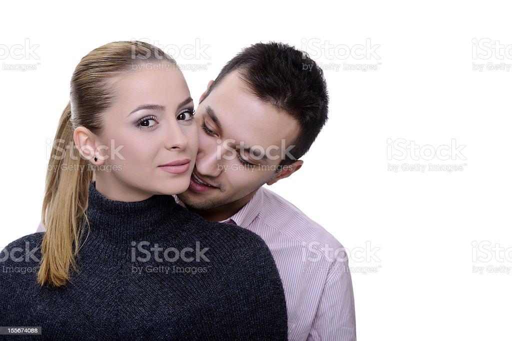 Jeune couple photo libre de droits